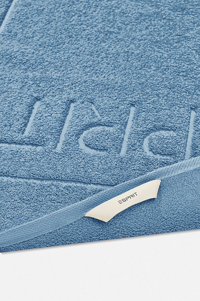 Frottee-Badematte aus 100% Baumwolle, SKY BLUE, detail image number 1