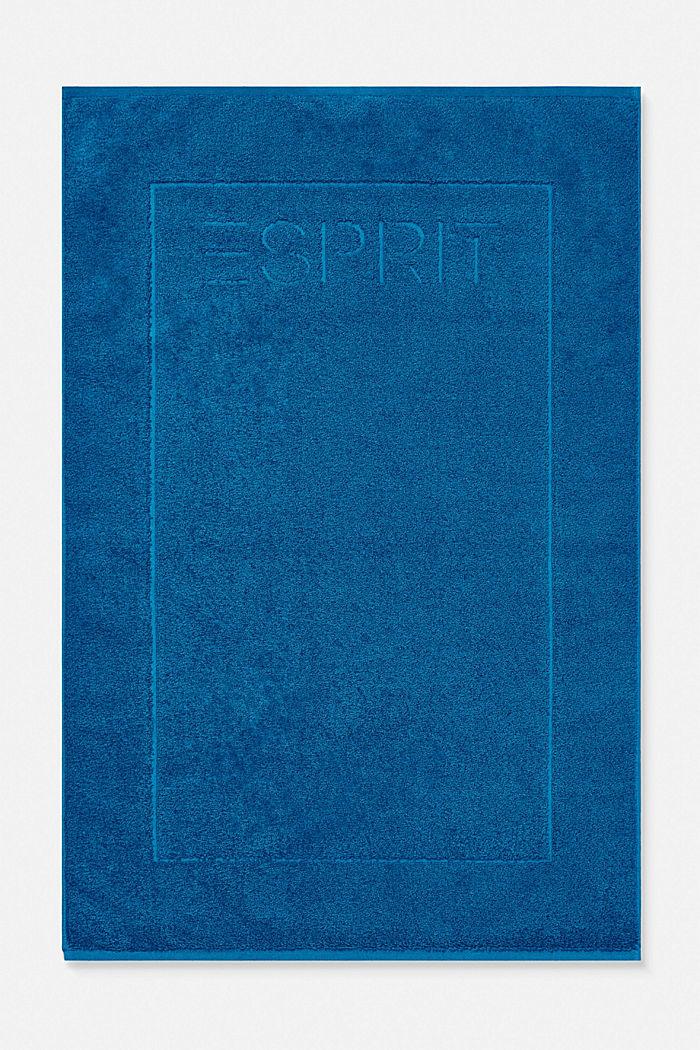 Frottee-Badematte aus 100% Baumwolle, OCEAN BLUE, detail image number 0