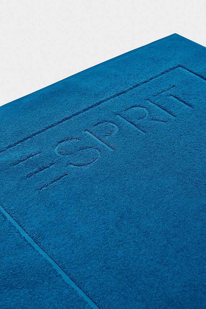 Frottee-Badematte aus 100% Baumwolle, OCEAN BLUE, detail image number 2