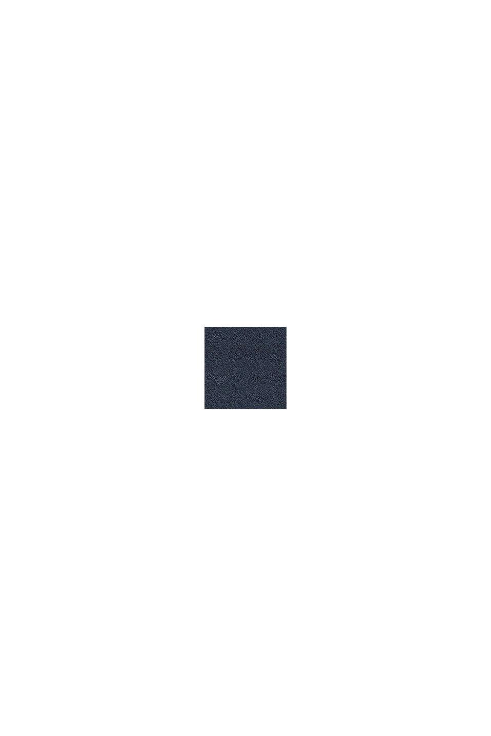 Terrycloth bath mat made of 100% cotton, NAVY BLUE, swatch