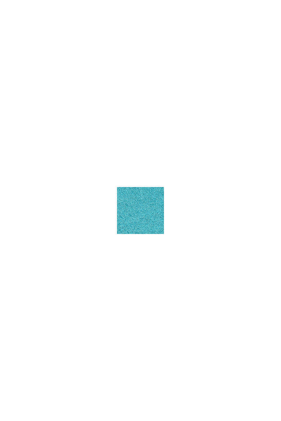 Terrycloth bath mat made of 100% cotton, TURQUOISE, swatch