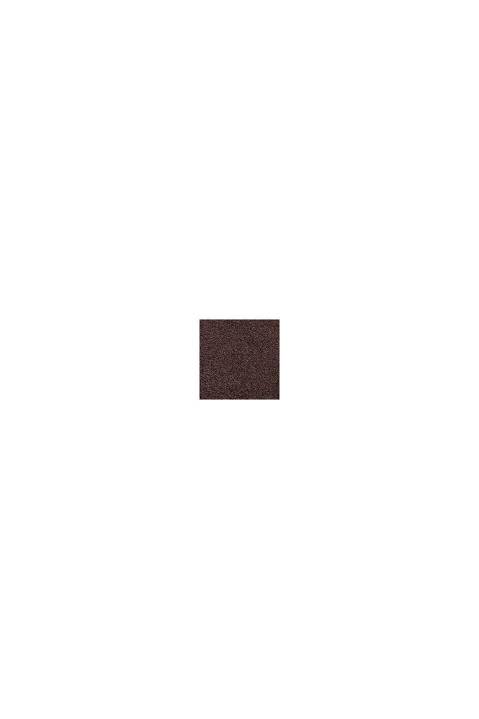 Terrycloth bath mat made of 100% cotton, CHOCOLATE, swatch
