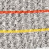 Double pack of socks with stripes, LIGHT GREY, swatch