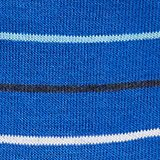 Double pack of socks with stripes, COBALT, swatch