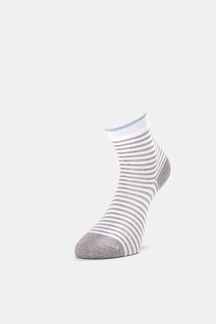 2er-Pack Ringel-Socken mit Organic Cotton, GREY, detail image number 2