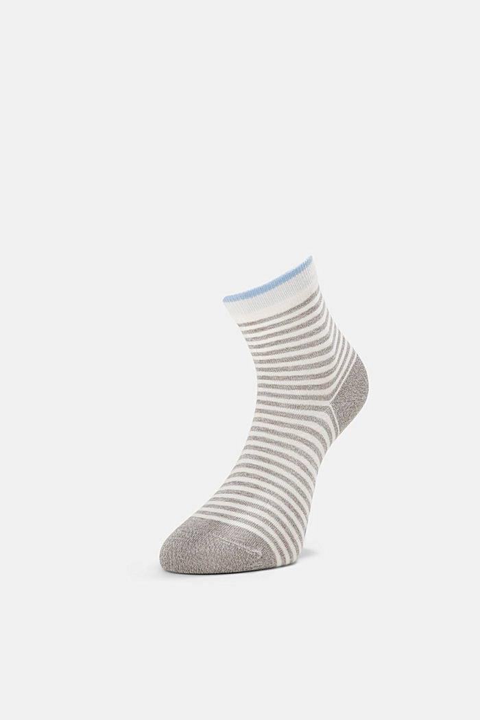 2er-Pack Ringel-Socken mit Organic Cotton, BLACK, detail image number 2