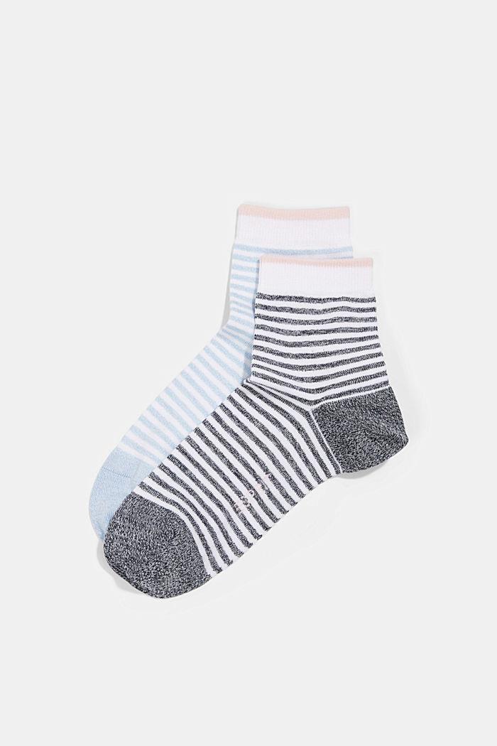 2er-Pack Ringel-Socken mit Organic Cotton