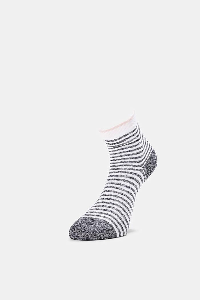 2er-Pack Ringel-Socken mit Organic Cotton, DARK GREY, detail image number 2