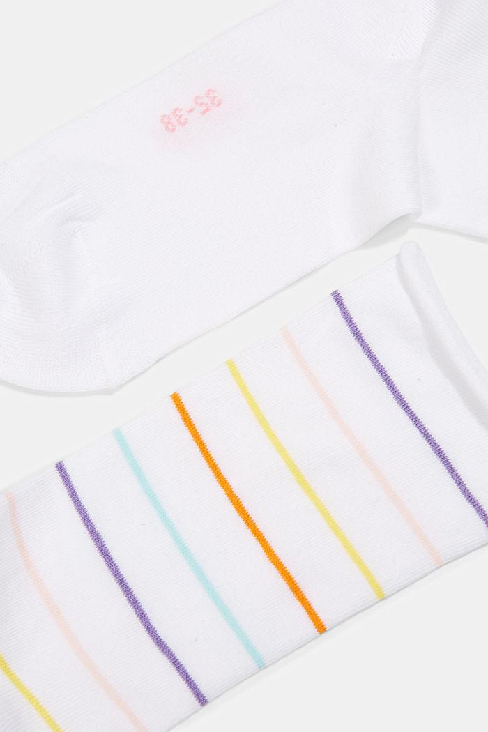 2er Pack Socken aus Baumwoll-Mix