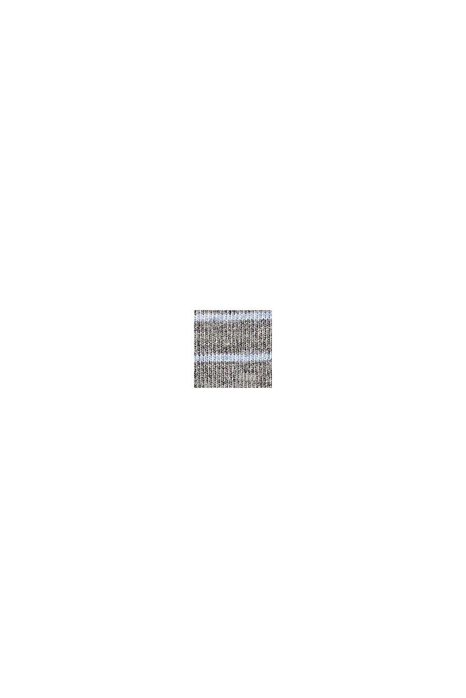 Pack de dos pared de calcetines hechos de algodón ecológico, LIGHT GREY MELANGE, swatch