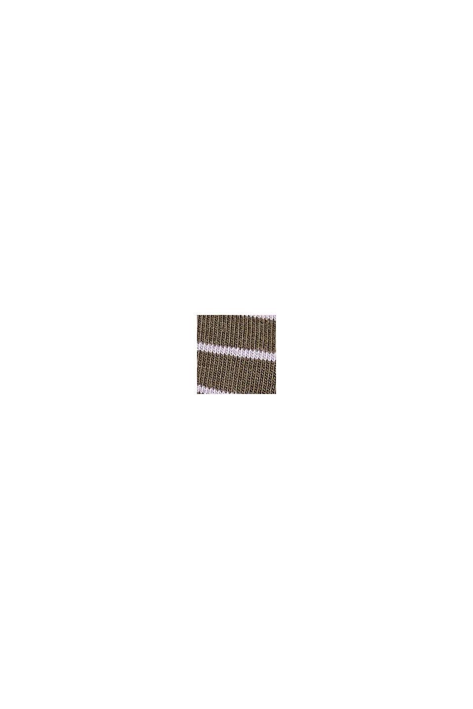 Pack de dos pared de calcetines hechos de algodón ecológico, MILITARY, swatch