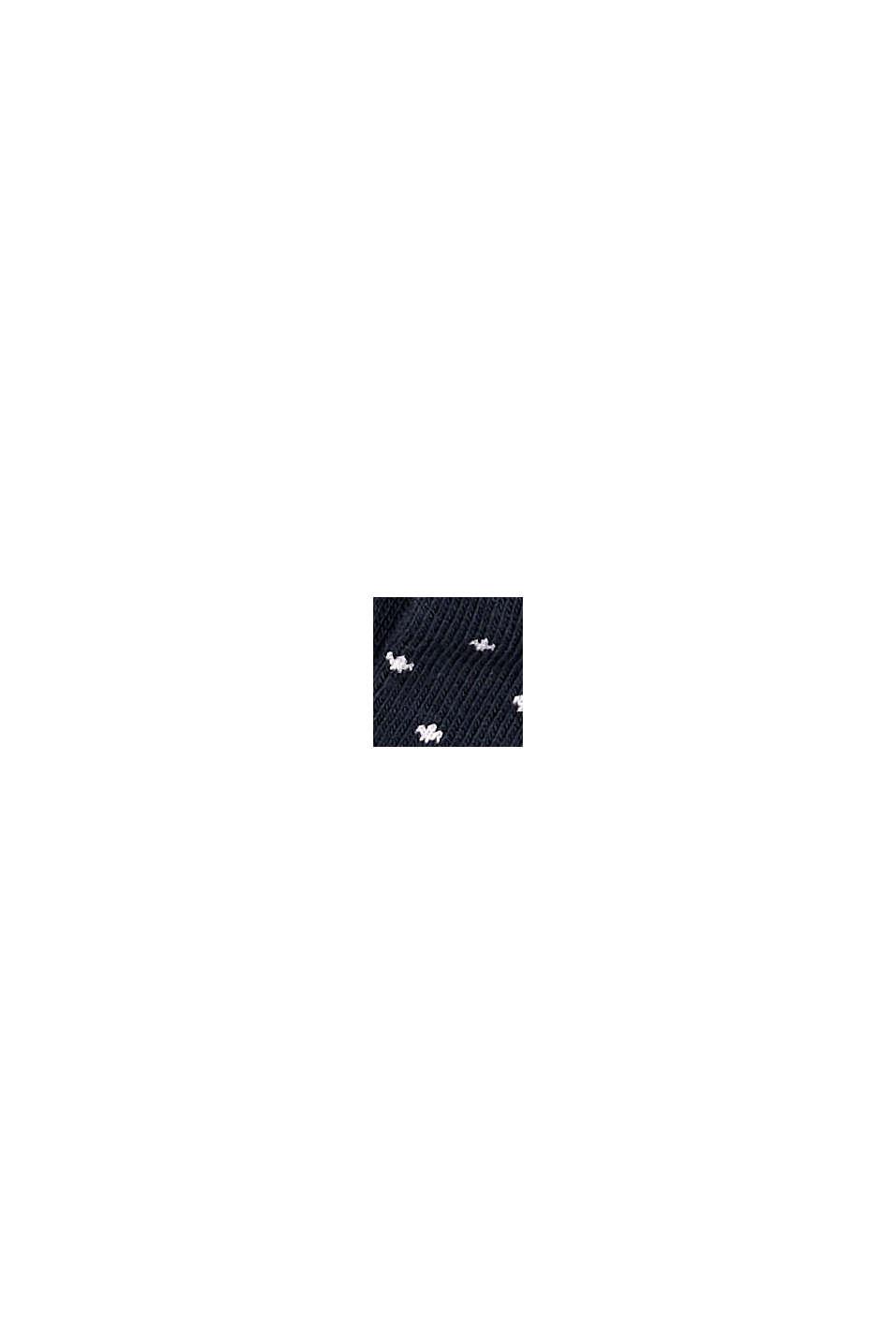 Calzini in confezione doppia, misto cotone biologico, MARINE, swatch
