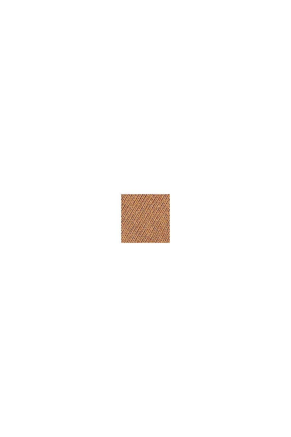 Calze corte in confezione doppia, misto cotone biologico, SIENNA, swatch