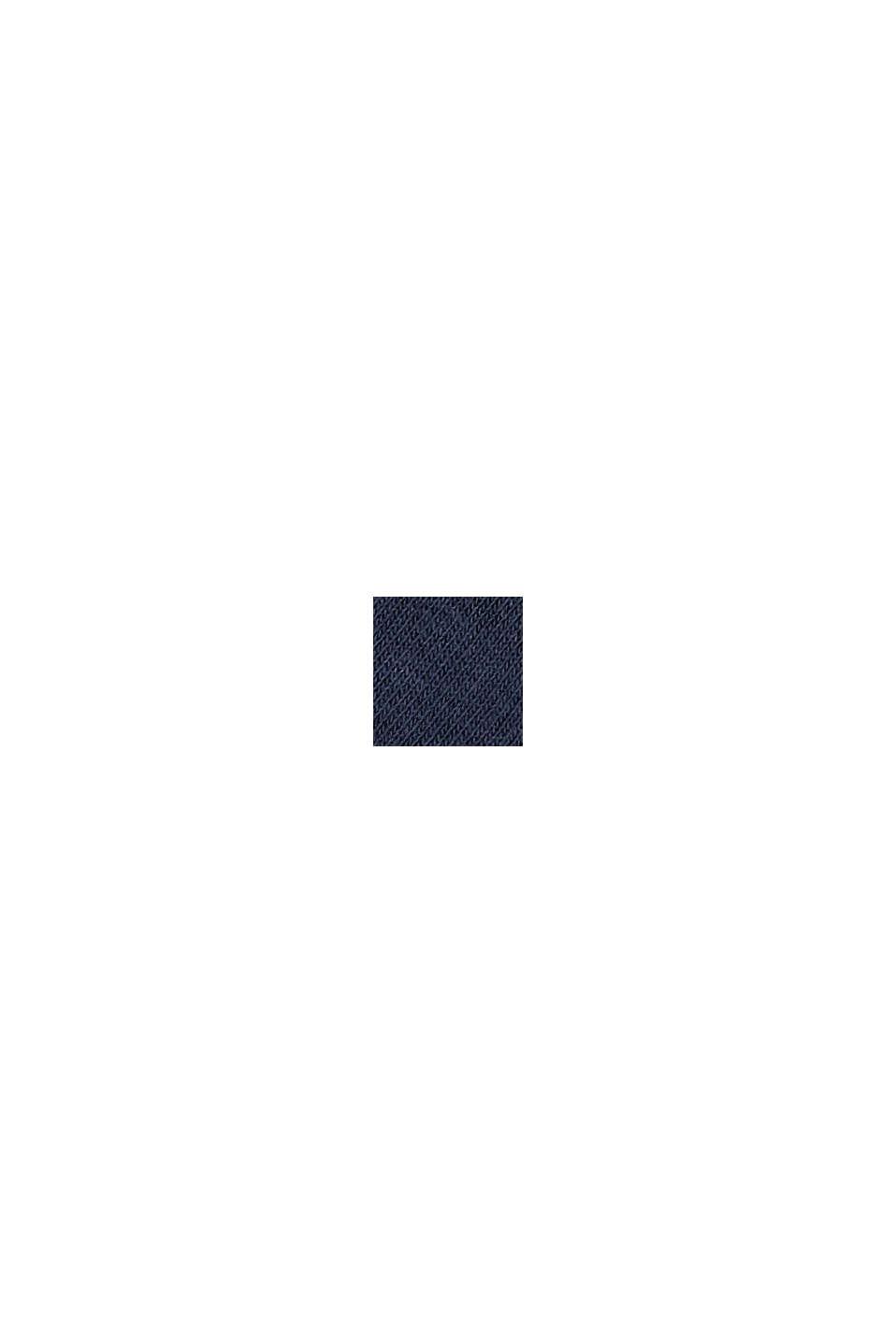 Calze corte in confezione doppia, misto cotone biologico, MARINE, swatch