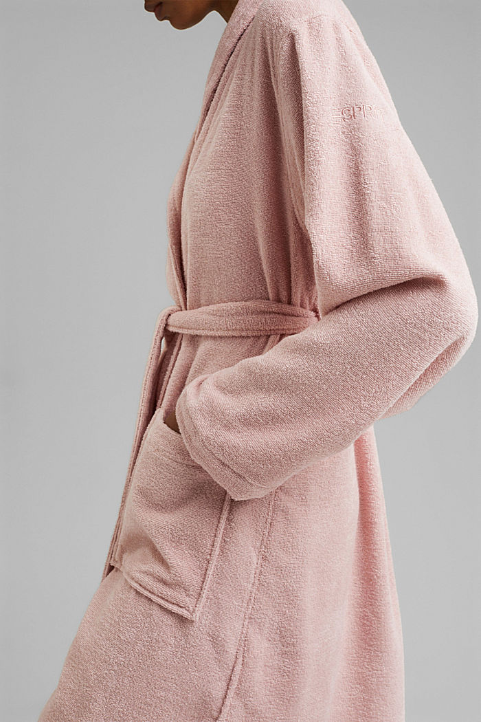Unisex župan, 100% bavlna, ROSE, detail image number 3