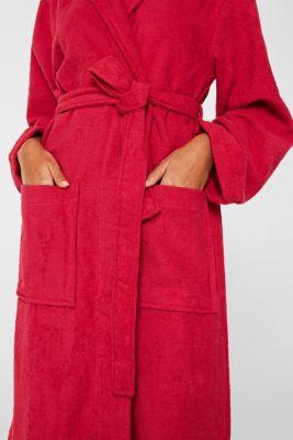 Unisex swimsuit, 100% cotton, RASPBERRY, detail