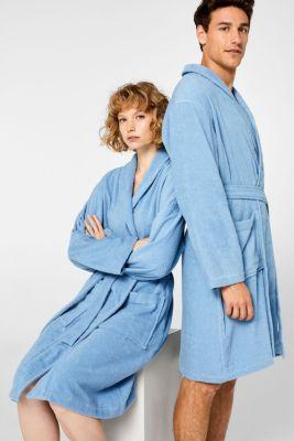 Unisex swimsuit, 100% cotton, SKY BLUE, detail