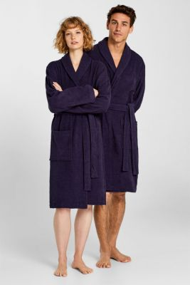Unisex swimsuit, 100% cotton, NAVY BLUE, detail