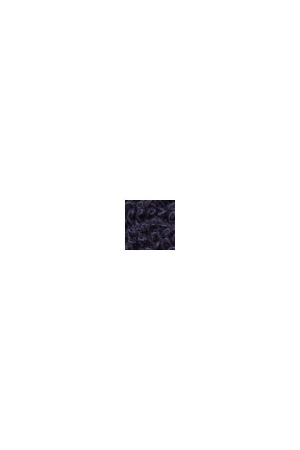 Peignoir unisexe 100% coton, NAVY BLUE, swatch