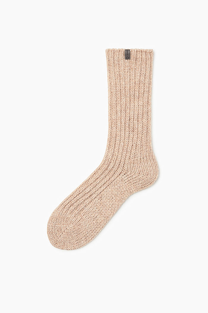 Socks, CREAM, detail image number 0