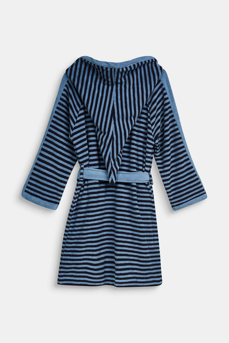 Children's bathrobe with pointed cap, SKY BLUE, detail image number 1