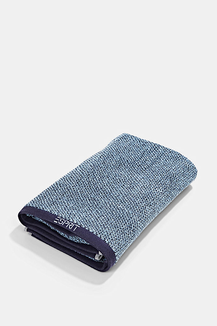 Towel collection made of 100% cotton, NAVY BLUE, detail image number 2