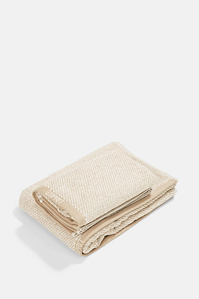 Towel collection made of 100% cotton, SAND, detail image number 0