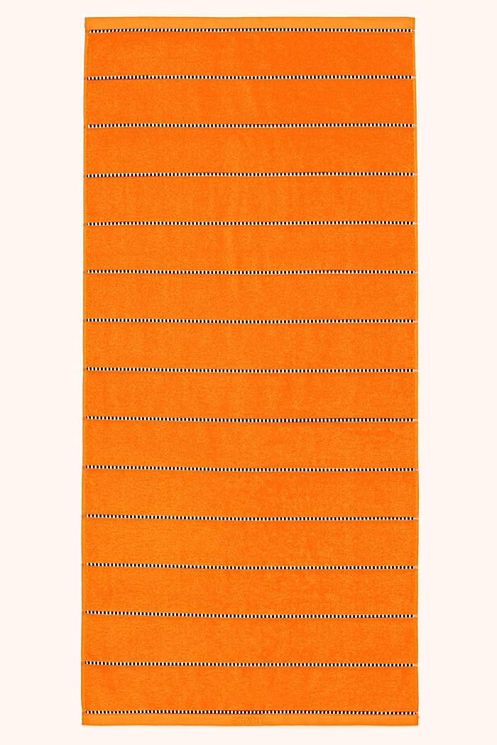 Con TENCEL™: línea de toallas de rizo, MANDARINE, detail image number 0