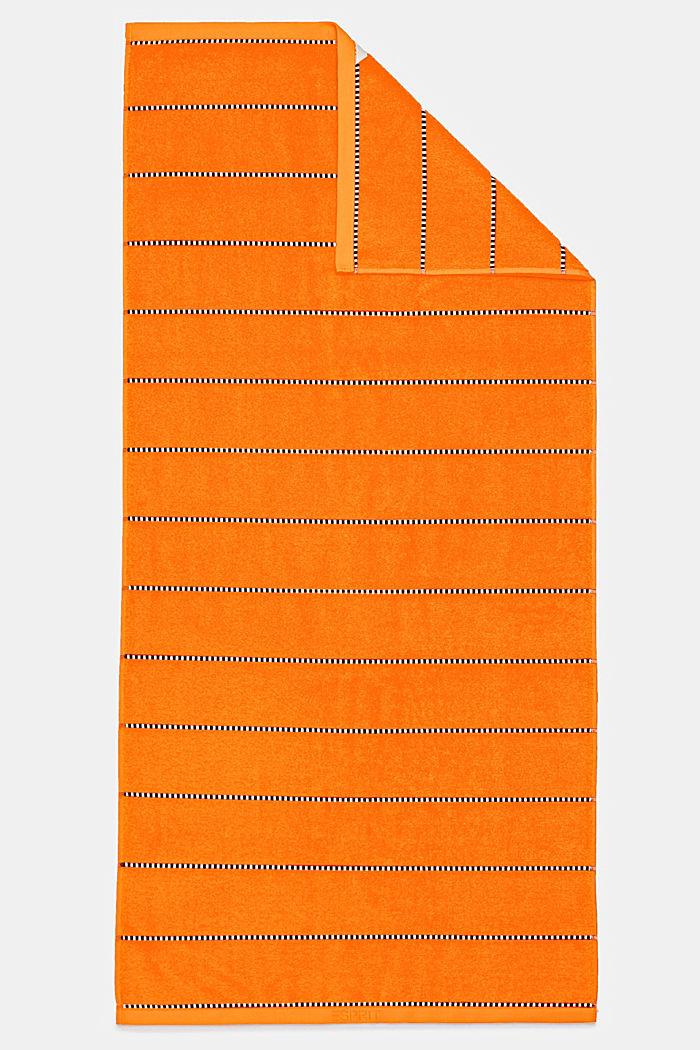 Con TENCEL™: línea de toallas de rizo, MANDARINE, detail image number 4