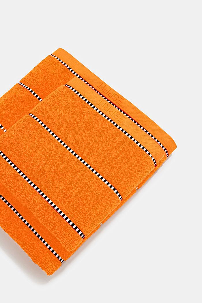 Mit TENCEL™: Handtuch-Serie aus Frottee