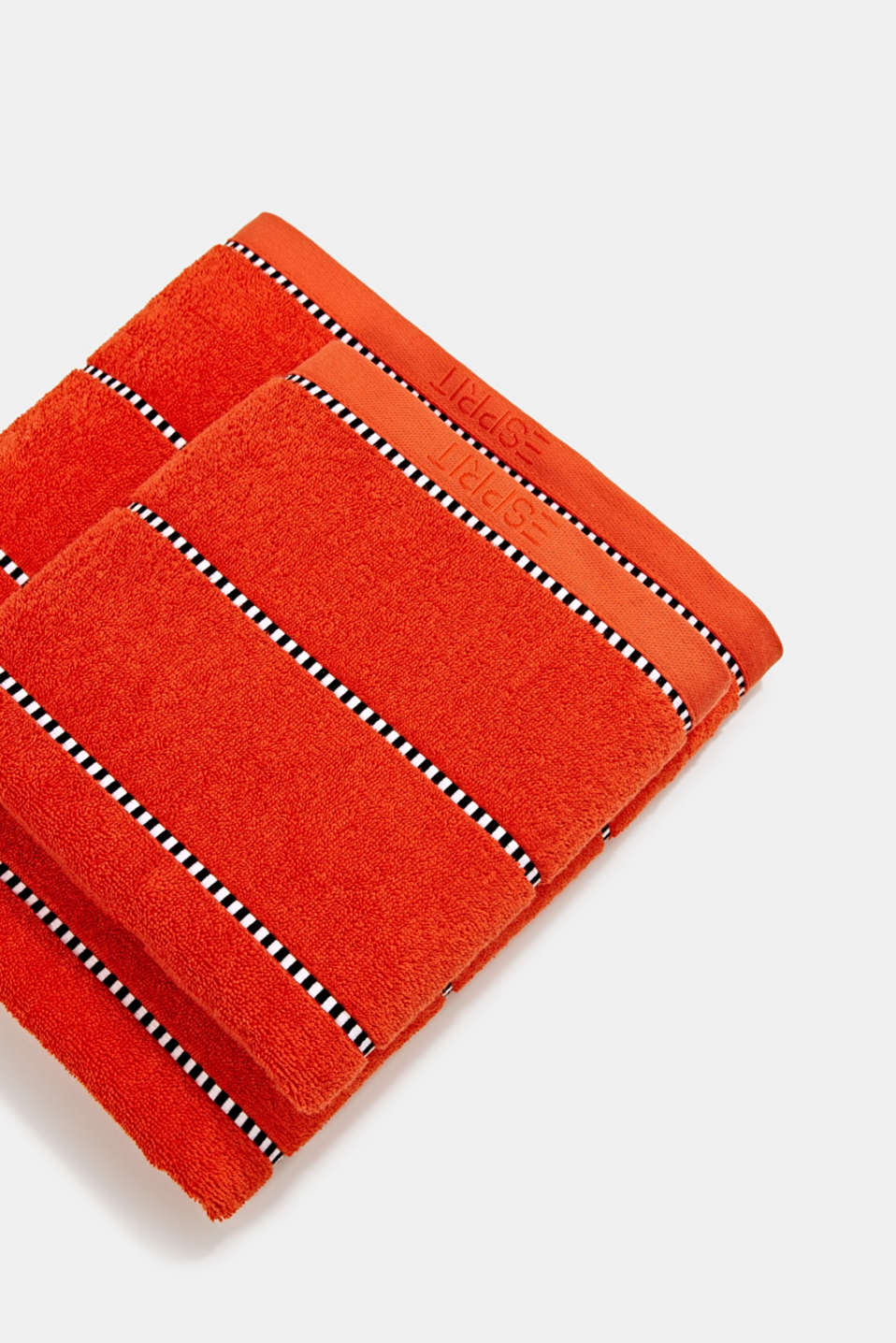 With TENCEL™: terry cloth towel collection, FIRE, detail image number 0