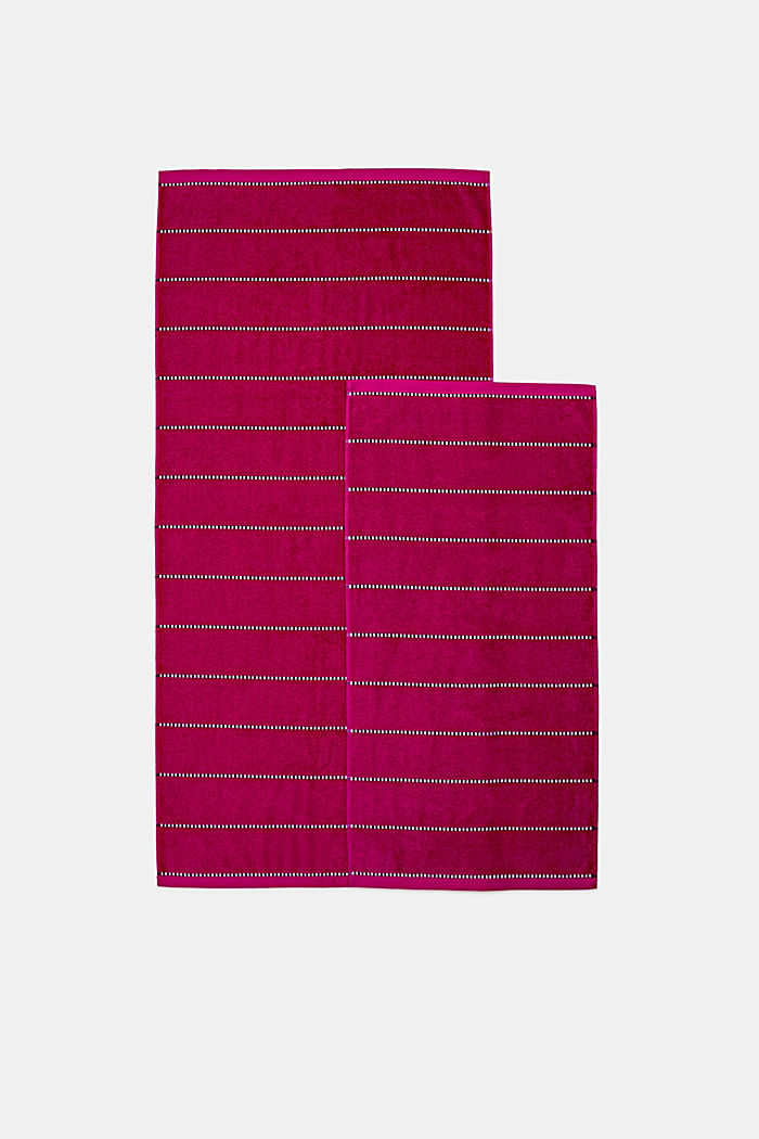With TENCEL™: terry cloth towel collection, RASPBERRY, detail image number 3