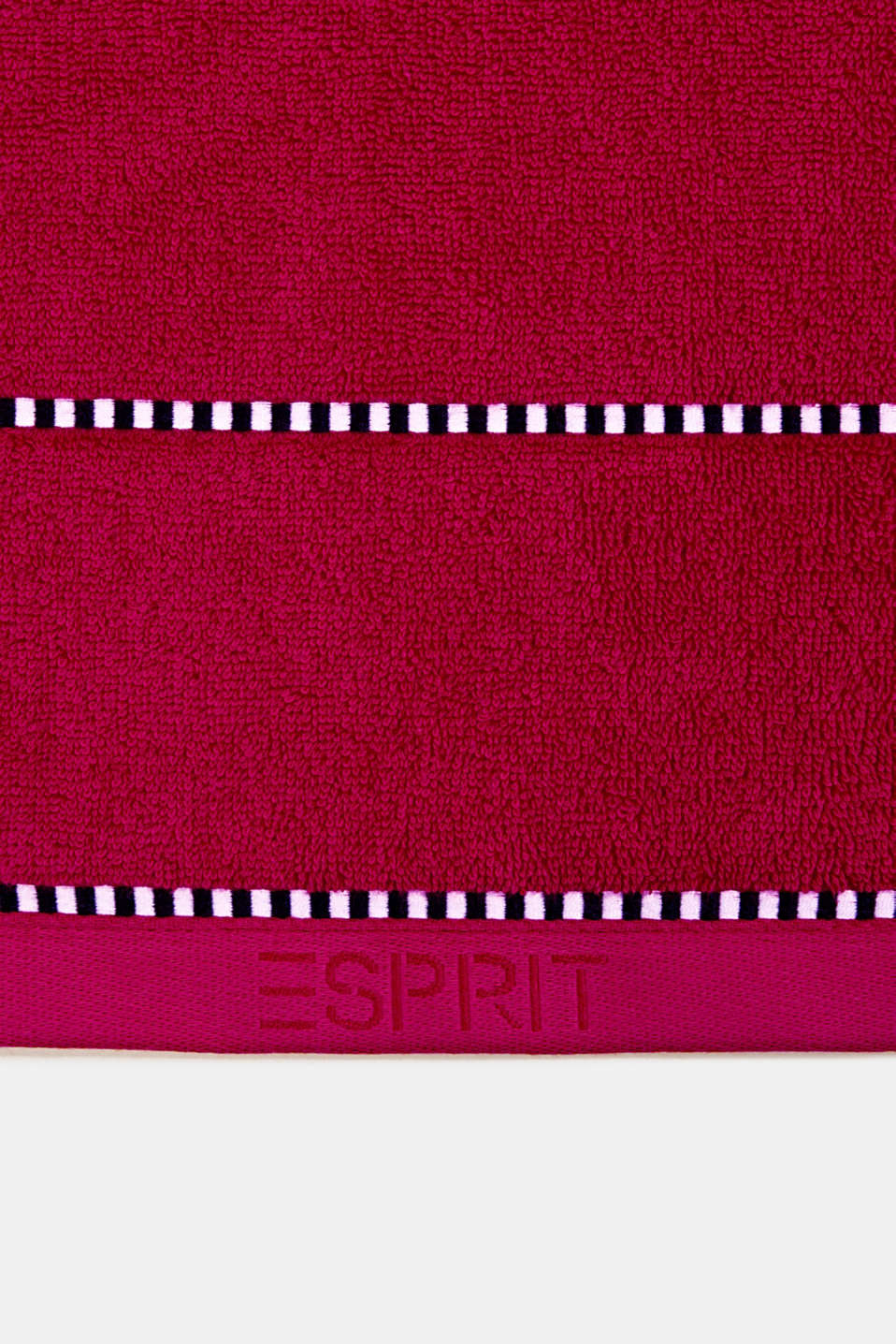 With TENCEL™: terry cloth towel collection, RASPBERRY, detail image number 1