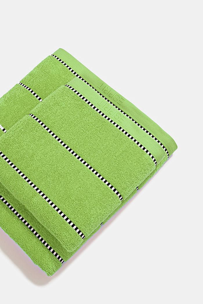Met TENCEL™: handdoekenlijn van badstof, APPLE, detail image number 0