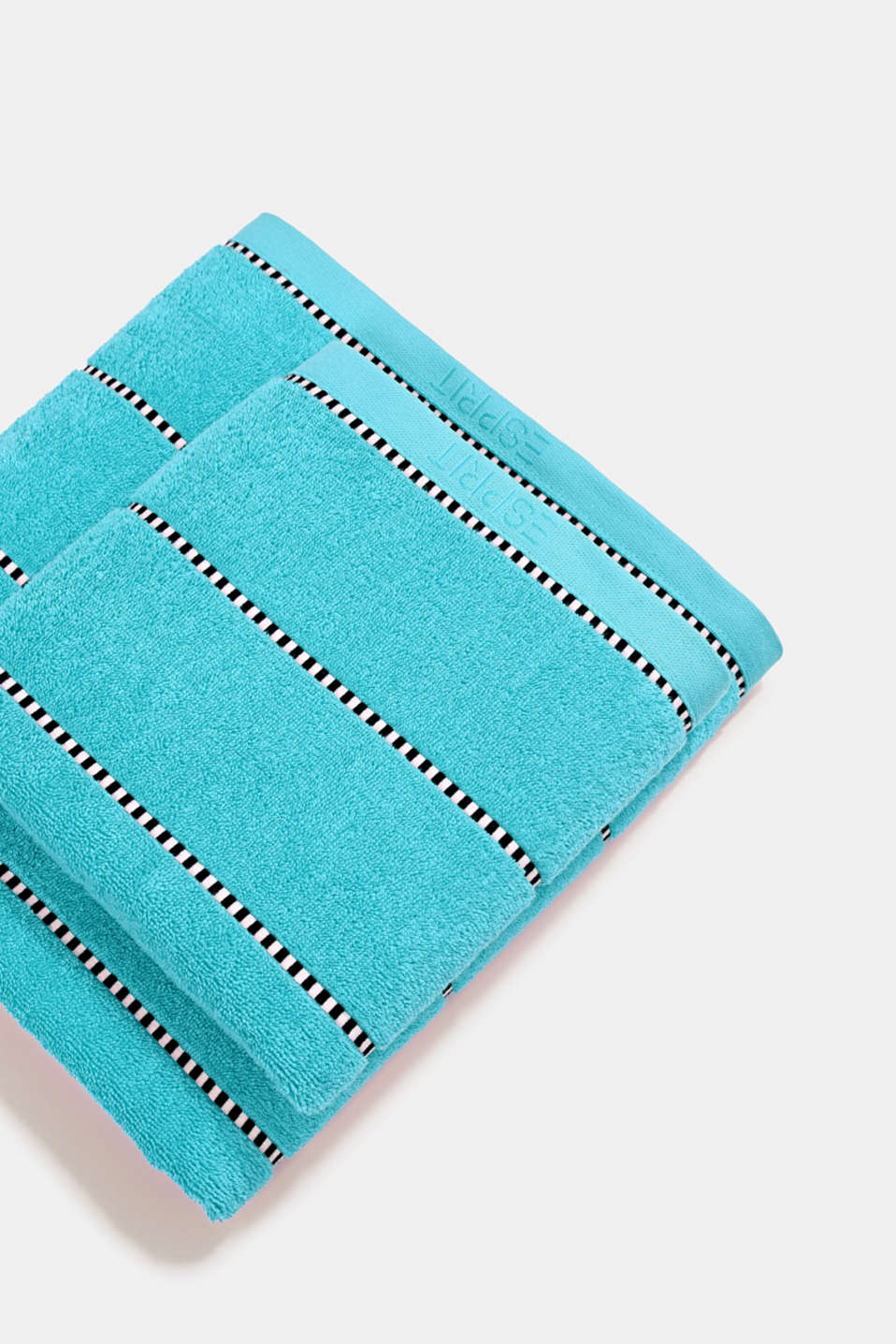 With TENCEL™: terry cloth towel collection, TURQUOISE, detail image number 0