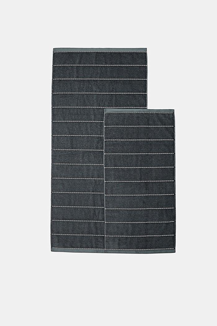Mit TENCEL™: Handtuch-Serie aus Frottee, GREY STEEL, detail image number 3
