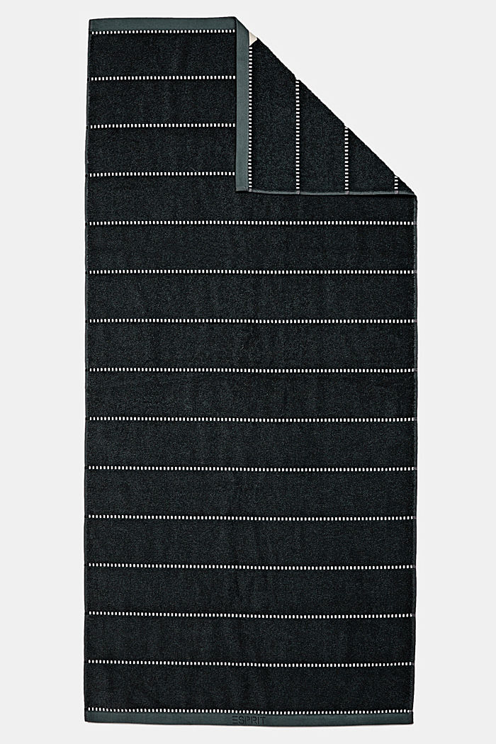 With TENCEL™: terry cloth towel collection, BLACK, detail image number 4