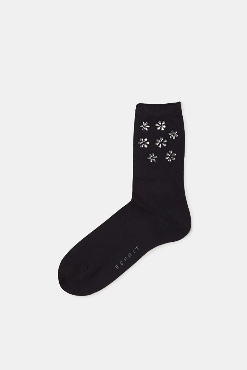Esprit - Fine socks with facet-cut stones
