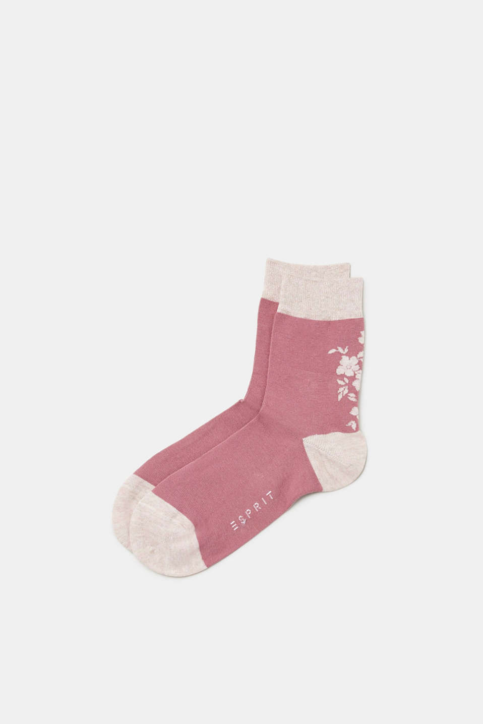 Esprit - Socks with a bright melange effect