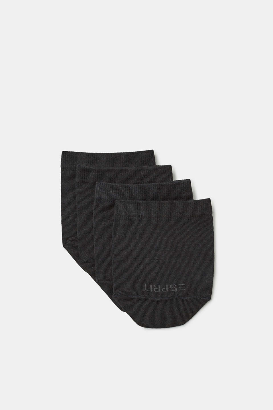 Esprit - Double pack of blended cotton toe socks