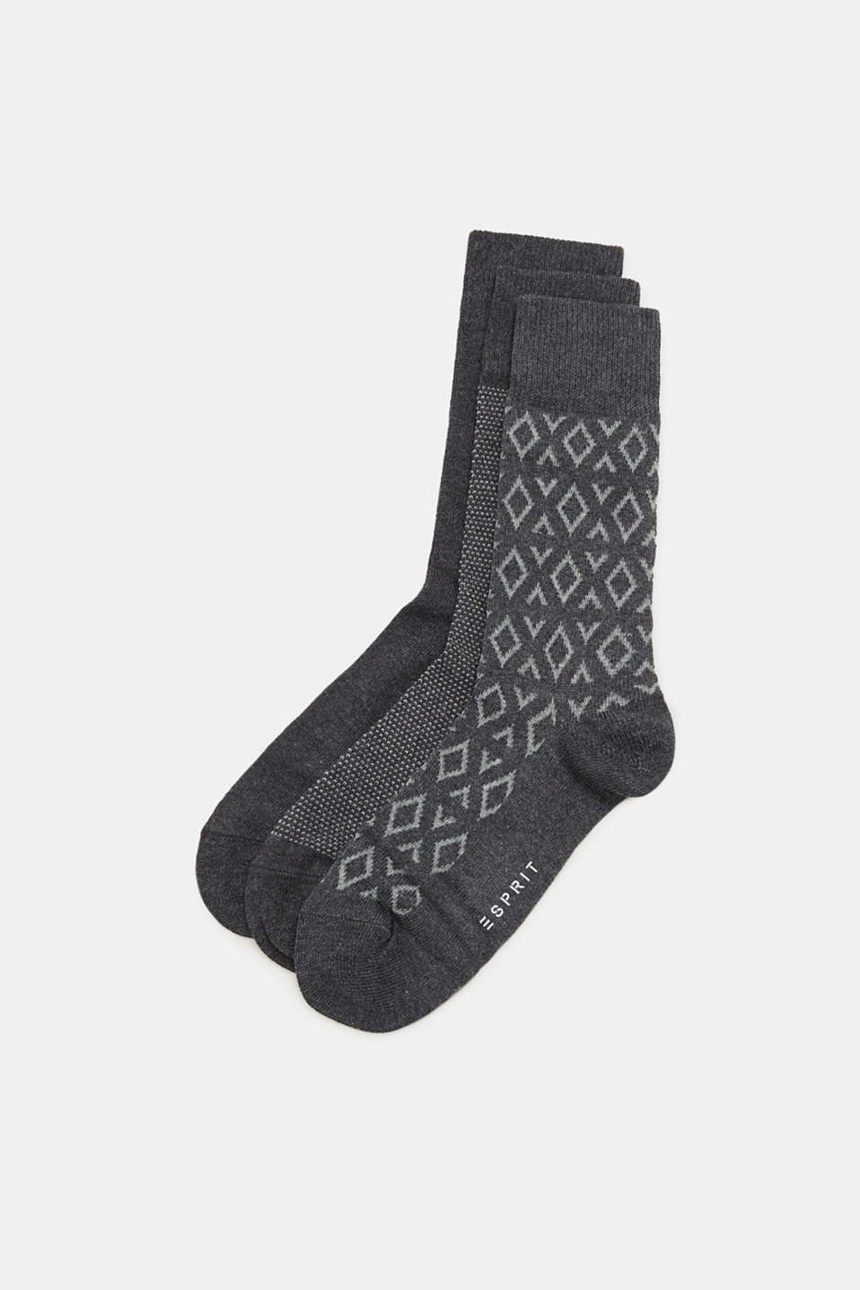 Esprit - Triple pack of socks in a gift box