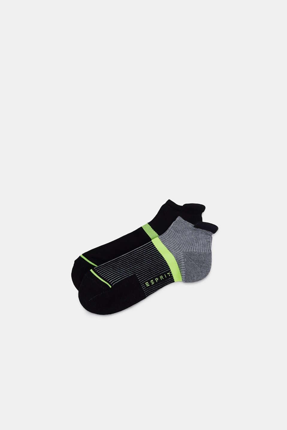 Sneaker socks, BLACK, detail image number 0