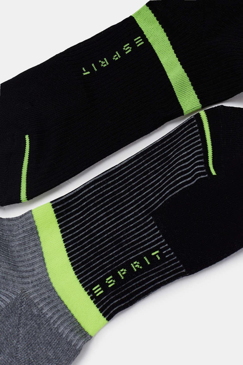 Sneaker socks, BLACK, detail image number 1