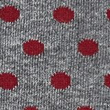 Double pack of socks with polka dots, LIGHT GREY MELANGE, swatch