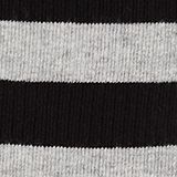 Double pack of socks with stripes, BLACK, swatch