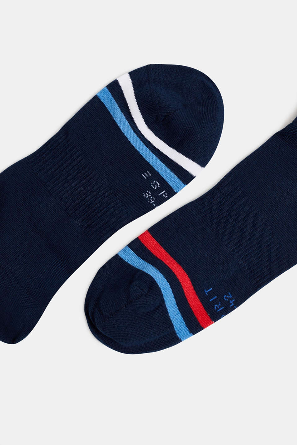 In a 2-pack: sporty trainer socks, MARINE, detail image number 1