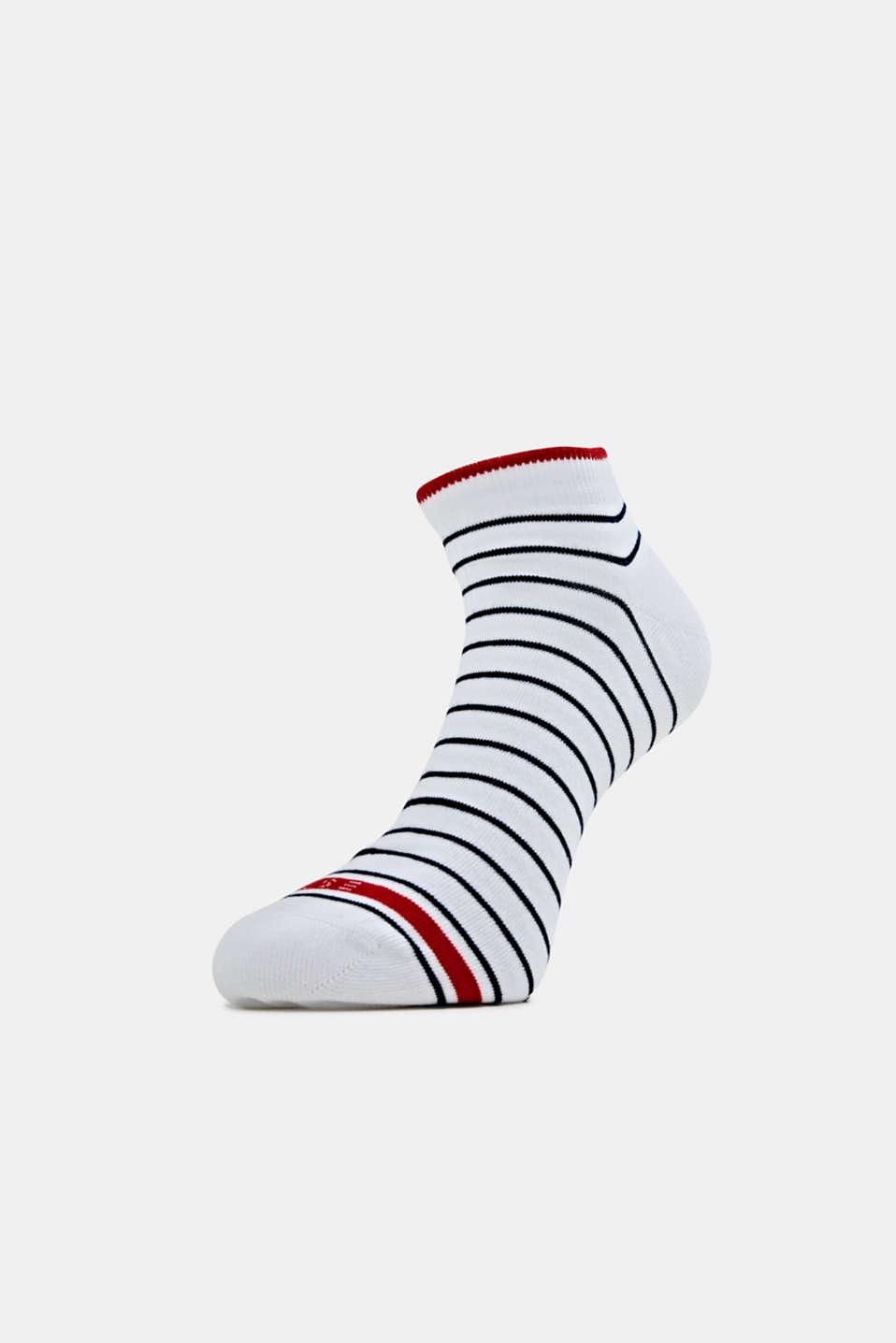 Triple pack: striped trainer socks, SORTIMENT, detail image number 0