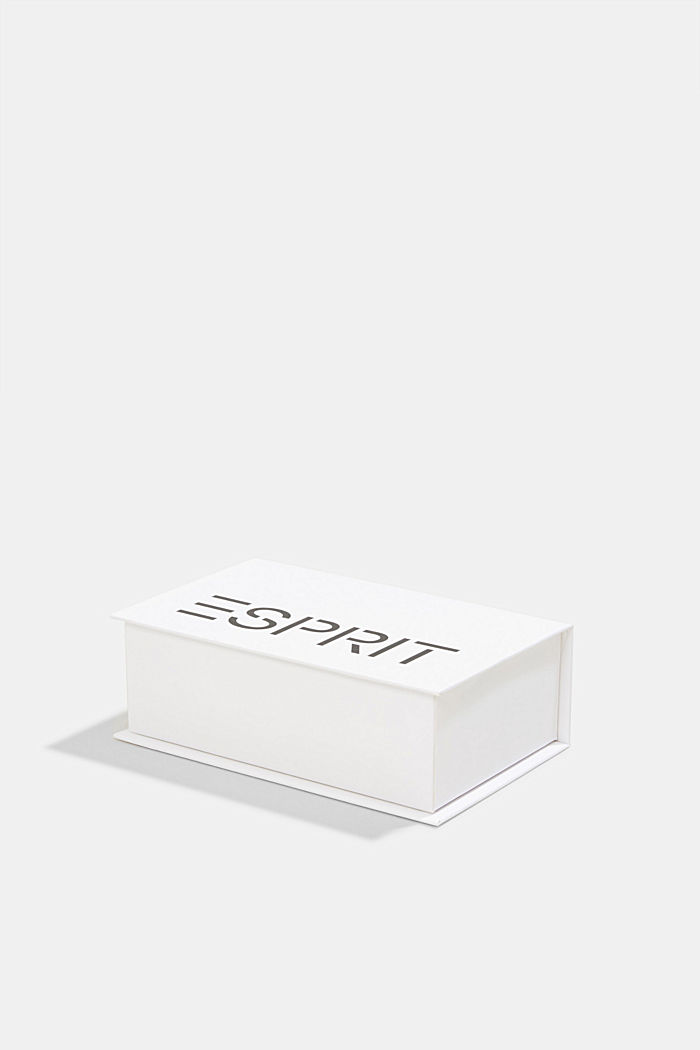 Gift box containing a triple pack of socks, ANTHRACITE MELANGE, detail image number 3