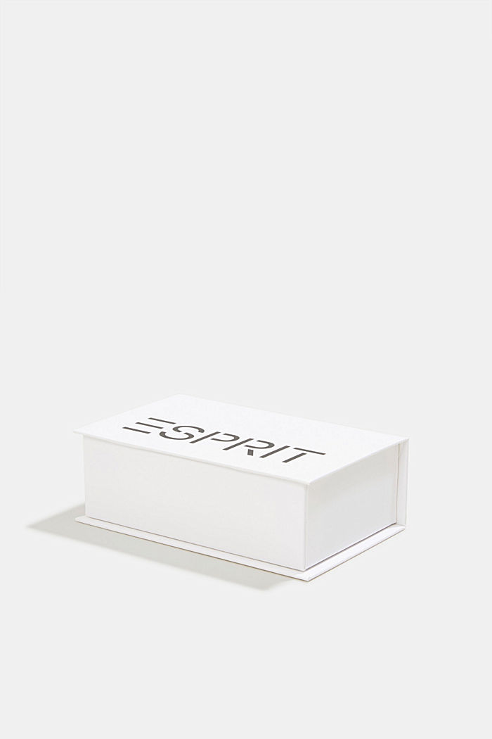 Gift box containing a triple pack of socks, MARINE, detail image number 4