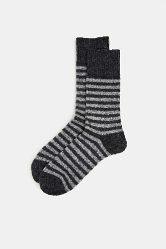 Chunky blended cotton socks